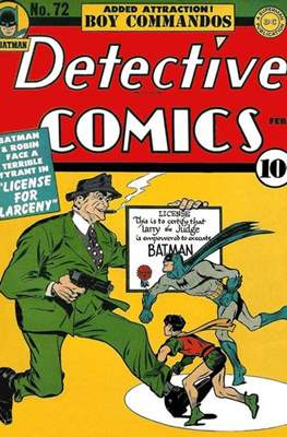 Detective Comics Vol. 1 (1937-2011; 2016-) (Comic Book) #72