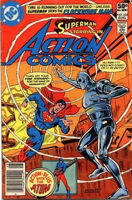 Action Comics Vol. 1 (1938-2011; 2016-) (Comic Book) #522