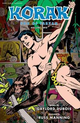Korak Son of Tarzan (Hardcover 192 pp) #2