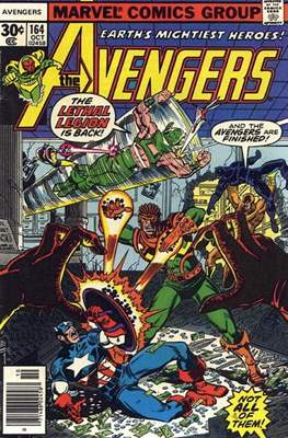 The Avengers Vol. 1 (1963-1996) (Grapa) #164