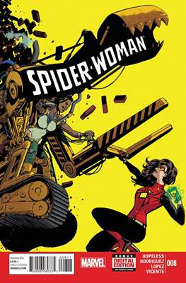 Spider-Woman (Vol. 5 2014-2015) (Comic-book) #8