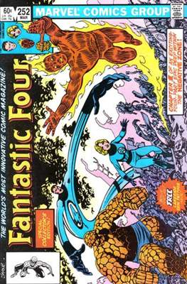 Fantastic Four Vol. 1 (1961-1996) (saddle-stitched) #252