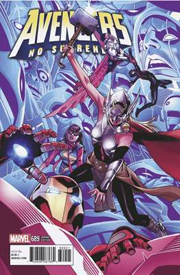 The Avengers Vol. 7 (2016-...Variant Covers ) (Grapa) #689