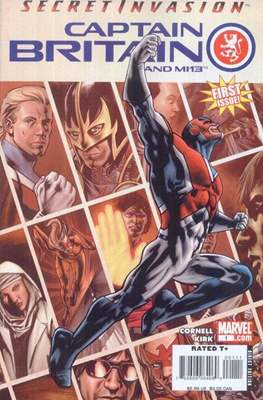 Captain Britain and MI13 (Grapa) #1