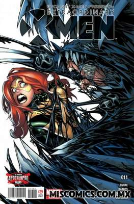 Uncanny X-Men (2016-2017) (Grapa) #11