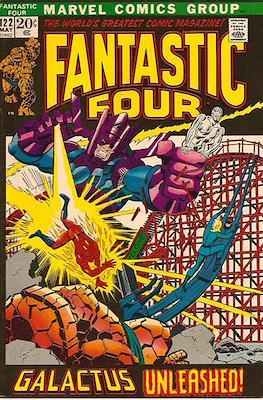Fantastic Four Vol. 1 (1961-1996) (saddle-stitched) #122