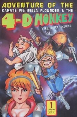 Adventure of The Karate Pig, Ninja Flounder & The 4-D Monkey
