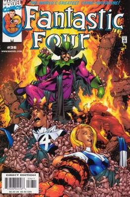 Fantastic Four Vol. 3 (Comic Book) #36