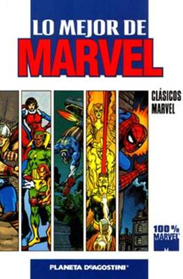 Lo mejor de Marvel. 100% Marvel