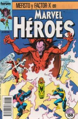 Marvel Héroes (1986-1993) (Grapa 32 pp) #28