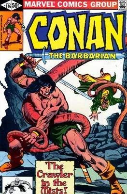 Conan The Barbarian (1970-1993) (Comic Book 32 pp) #116