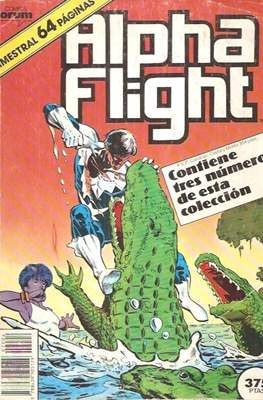Alpha Flight (Vol. 1) (Retapado Rústica) #4
