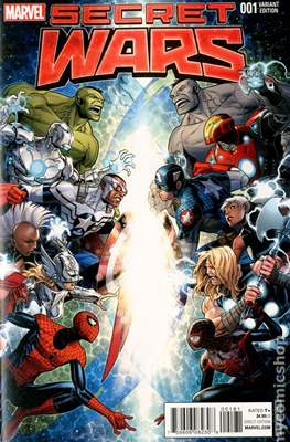 Secret Wars (2015) Variant Covers (Comic Book) #1.1
