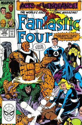 Fantastic Four Vol. 1 (1961-1996) (saddle-stitched) #335