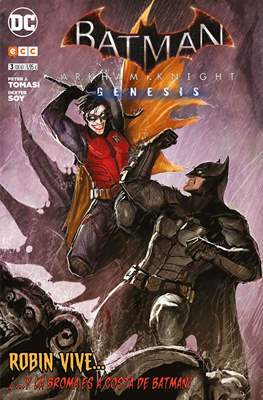Batman: Arkham Knight. Génesis (Grapa 24 pp) #3