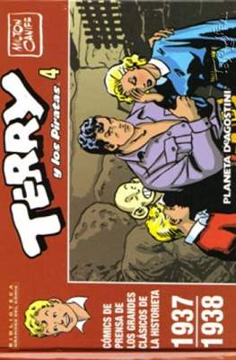 Terry y los Piratas. Biblioteca Grandes del Cómic #4