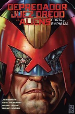 Depredador vs Juez Dredd vs Aliens - Corta y empalma (Cartoné 104 pp) #