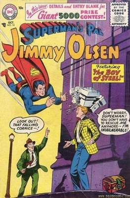 Superman's Pal, Jimmy Olsen / The Superman Family (Comic Book) #16