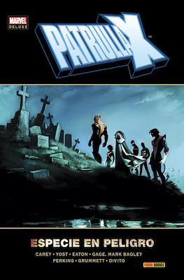 Patrulla-X. Especie en peligro. Marvel Deluxe