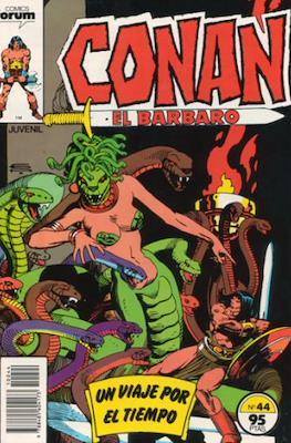 Conan el Bárbaro (1983-1994) (Grapa. 19x27. 36/32/24 páginas. Color.) #44