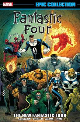 Fantastic Four Epic Collection #21