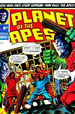 Planet of the Apes #8