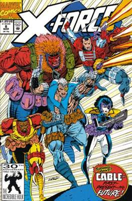 X-Force Vol. 1 (1991-2002) (Comic Book) #8