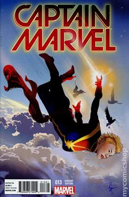 Captain Marvel Vol. 8 (Variant Covers) (Comic Book) #13