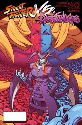 Street Fighter Vs. Darkstalkers (Comic-book) #4