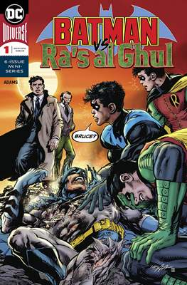Batman vs Ra's Al Ghul (Comic Book) #1
