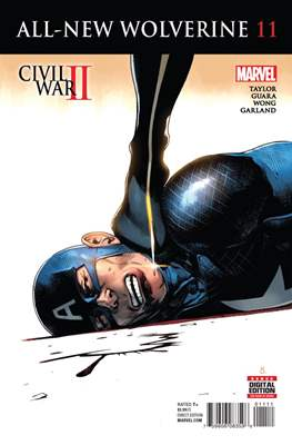 All-New Wolverine (2016-) (Comic book) #11