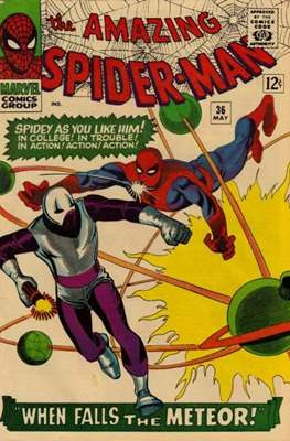 The Amazing Spider-Man Vol. 1 (1963-2007) (Comic-book) #36