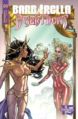 Barbarella/Dejah Thoris (Comic Book) #4
