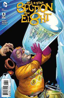 All Star Section Eight (Comic - book) #6