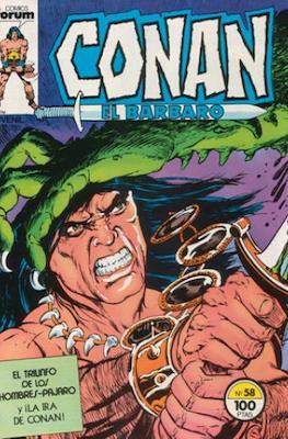 Conan el Bárbaro (1983-1994) #58