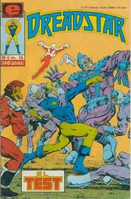 Dreadstar Vol. 1 (Grapa. 17x26. Color. (1985).) #16