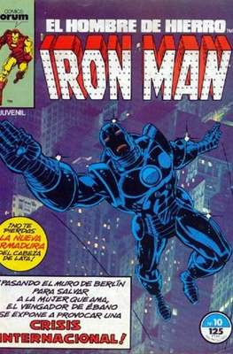 Iron Man Vol. 1 / Marvel Two-in-One: Iron Man & Capitán Marvel (1985-1991) (Grapa, 36-64 pp) #10