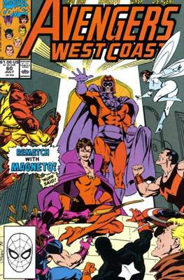 West Coast Avengers Vol. 2 (Comic-book. 1985 -1989) #60