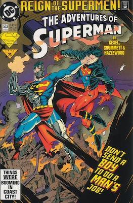Superman Vol. 1 / Adventures of Superman Vol. 1 (1939-2011) (Comic Book) #503