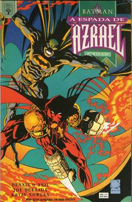 Batman - A Espada de Azrael (Grapa. 52 pp) #1