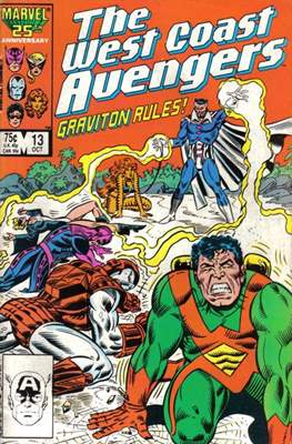 West Coast Avengers Vol. 2 (Comic-book. 1985 -1989) #13