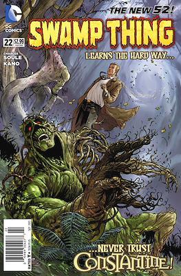 Swamp Thing Vol. 5 (2011-2015) (Comic Book) #22
