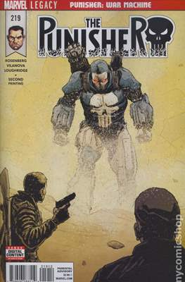 The Punisher Vol. 11 (2017- Variant Covers) #219