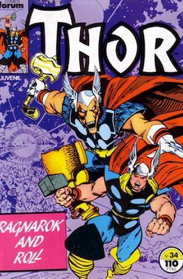 Thor, el Poderoso (1983-1987) #34