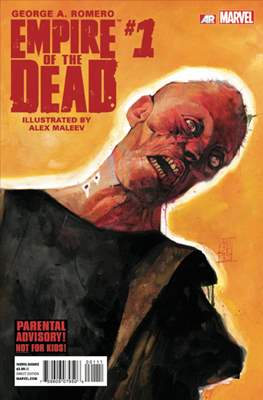 George A. Romero Empire of the Dead (comic-book) #1