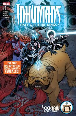 Inhumans - Once & Future Kings (Variant Covers)