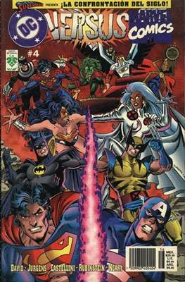 Dc versus Marvel / Marvel versus Dc (Rústica) #4