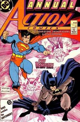 Action Comics Vol. 1 Annual (1987-2011)