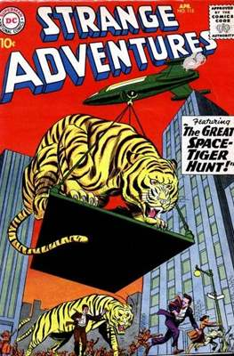 Strange Adventures (Comic Book) #115
