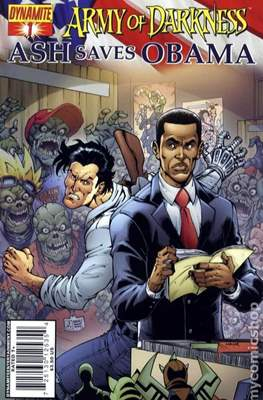 Army of Darkness Ash Saves Obama